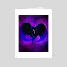 Raven Rises - Art Card by Reed Novak