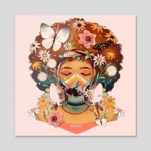 Breathe Deep - Acrylic by Geneva Bowers