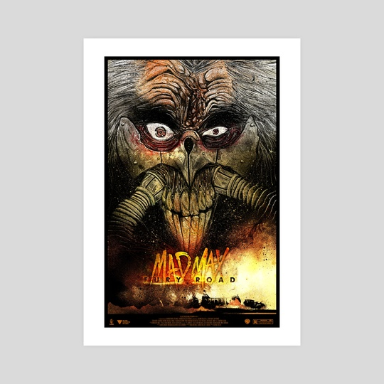 Mad Max Fury Road Poster by D-Wrex