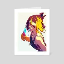 ICE CREAM KEI - Art Card by Rose  ローセ