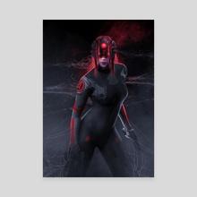 Major Widowmaker  - Canvas by Kode Subject