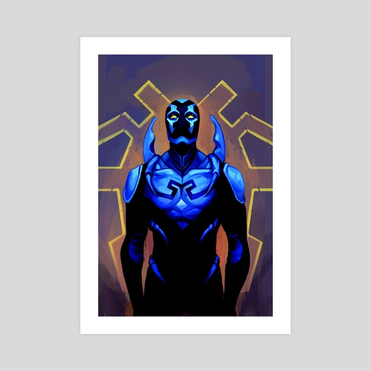 Blue Beetle by @bisouette_
