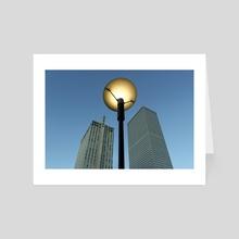 Giant Lamp - Art Card by Sara Trejo