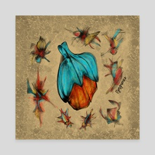 Fruit #12 - Canvas by Ljev Rjadcenko