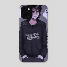 nico di angelo - Phone Case by maxy artwork