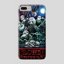 Slower Things - Phone Case by Daniel de Sosa