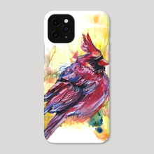 Cardinal - Phone Case by Annick Ip