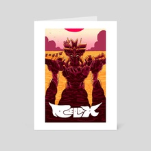 Relax - Art Card by Skullboy