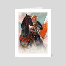 Flame Pillar  - Art Card by 欃豷鶜