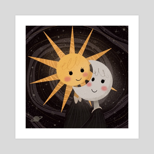 Sun and Moon by Bee