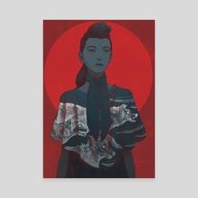 The War  - Canvas by Daniel Garcia