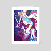 Tempestuous Magic - Art Card by thenothingmaker