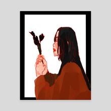 Autumn Vibes - Canvas by huehue huetler
