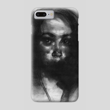 Sketch Head 05.02.16 - Phone Case by Damian Goidich