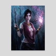 Morrigan - Canvas by arnaerr