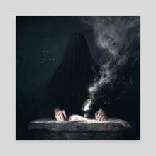 Blot II - Canvas by Maéna Paillet