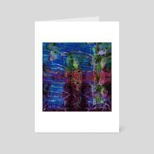 STP Screen Transfer Process - 215 - Kindness Springs Not Eternal - Art Card by Wetdryvac WDV