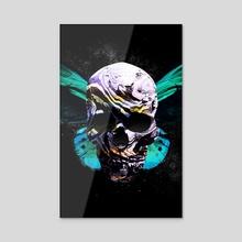 Skull 2 - Acrylic by Nikita Abakumov