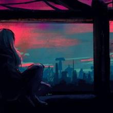 When It All Falls Down - Acrylic by Rorie Ciriaco