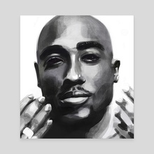 Pac - Canvas by Marouane Bembli