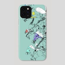 Run - Phone Case by Wendi Strang-Frost