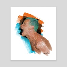 Flea - Canvas by Luis Liendo