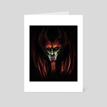 Aku - Art Card by John Trinh