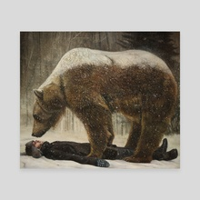 Cold Comfort - Canvas by Christer Karlstad