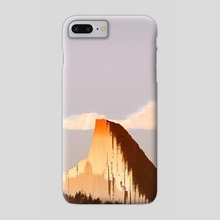 Lonely mountain - Phone Case by Francisco Villa