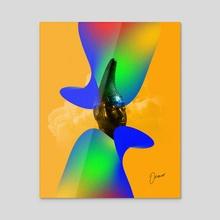 Queen Idia - Acrylic by Runor Jiroma
