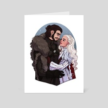 Winter Is Here  - Art Card by NaomiMakesArt