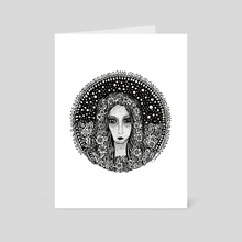 Virgo, the Virgin - Art Card by Jacque Tiongco