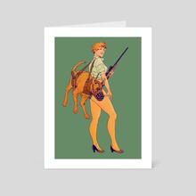 Hunt Hound - Art Card by Robert Sammelin