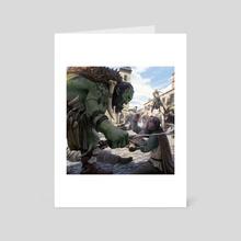 Conquest - Art Card by Joshua Cairós