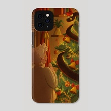 Good Omens - Crowley as a Tinsel - Phone Case by gemennair