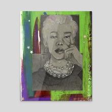 Sick & tired - Jimin sketch - Acrylic by bultaoreune   Tyana