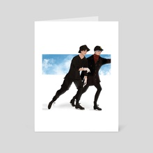 Jikook ice skating - Art Card by Felicity