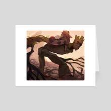 frenzy plant - Art Card by Jacki Li