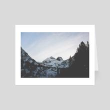 Peak Malyovitsa - Art Card by Ivaylo Totev