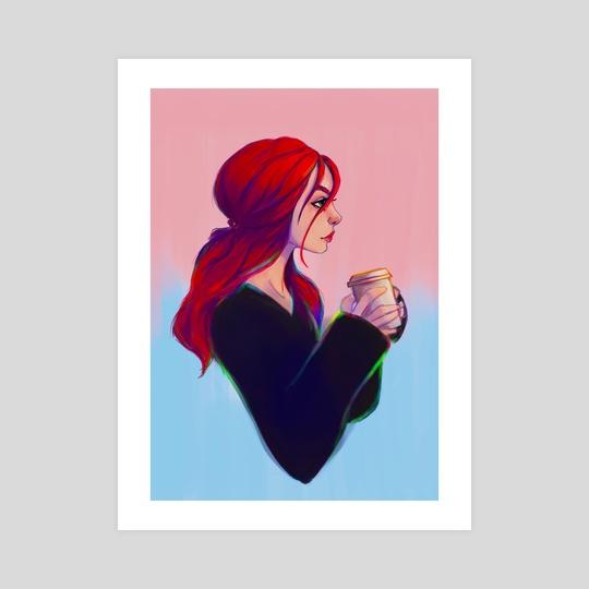 """""""Coffee break"""" by Shaya Fury"""