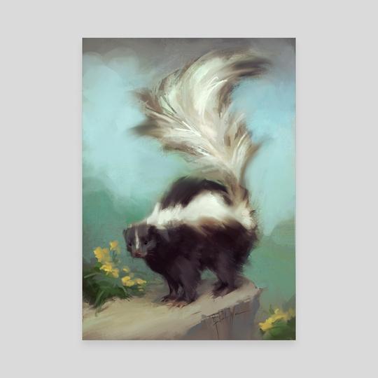 Le skunk by Flavia Yasin