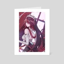 Rosaria - Art Card by Kuurimu