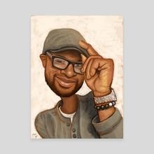 Mike - Canvas by Kritzia LaRose