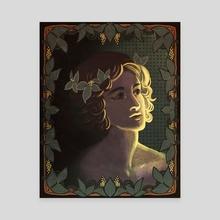 Ivy Prince - Canvas by Natalie Gornicki