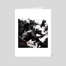 TREMENDOUS ACTION - Art Card by Vincent Nappi
