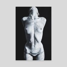 Under my skin2 - Canvas by Kseniya Lokotko