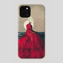 Distant Fragility - Phone Case by Frank  Moth