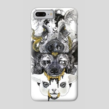 The Good, the Bad, and The Ugly - Phone Case by Jennifer Nouel