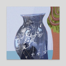 Whispering Vessel - Acrylic by Davis Ivey