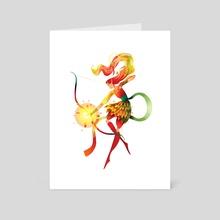 Elf Warrior - Art Card by Sarah Holliday